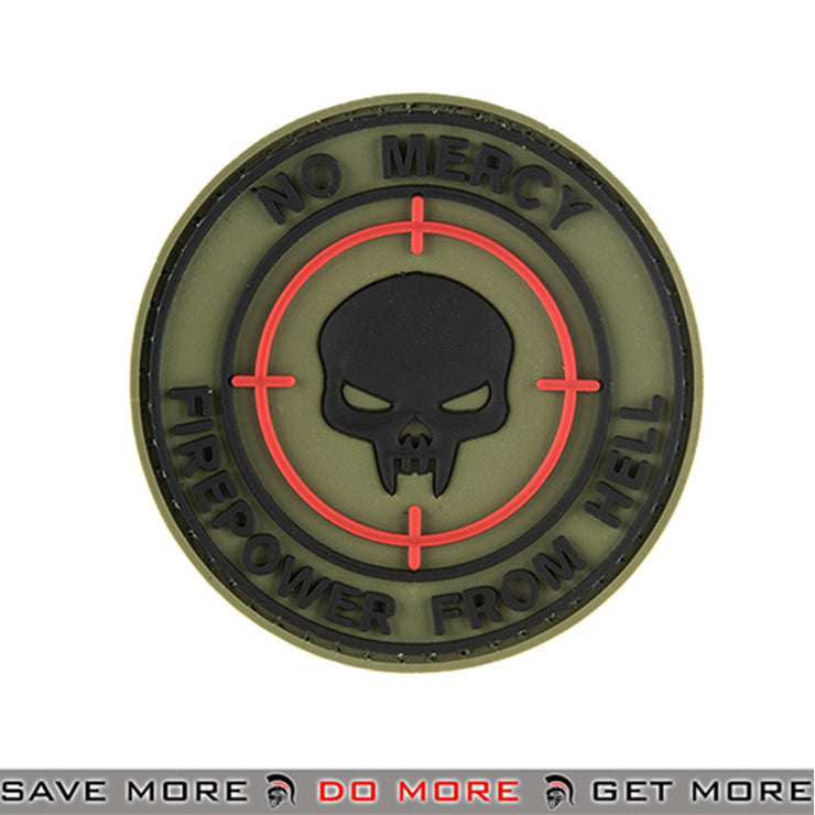 G-FORCE No Mercy PVC Airsoft Velcro Morale Patch