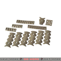 PTS Licensed Centurion Arms CMR Rail Accessory Pack - Dark Earth Rail Accessories- ModernAirsoft.com