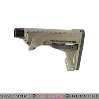 PTS Ergo F93 Pro Collapsible Stock with Pad for Airsoft GBB Gas Blowback Rifles - Dark Earth Stocks- ModernAirsoft.com