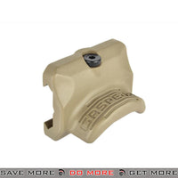 PTS GoGun Gas Pedal RS2 Thumb Rest - Flat Dark Earth Vertical Grips- ModernAirsoft.com