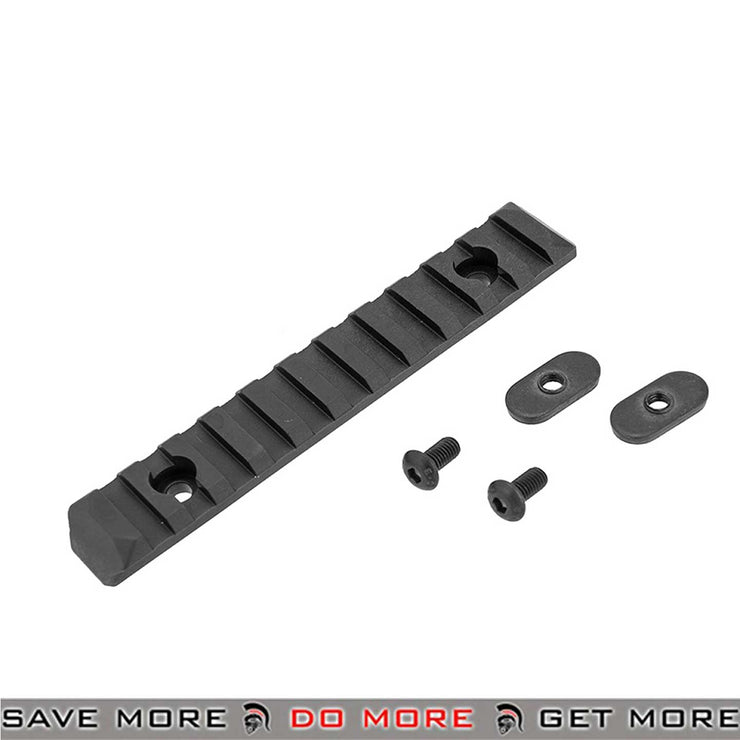 PTS Airsoft Enhanced Rail Section - 11 Slots For Airsoft Keymod Rail