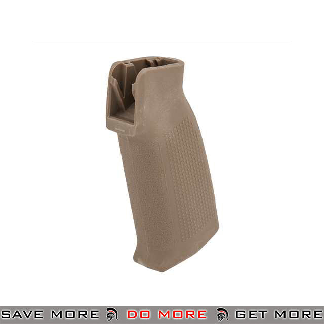 PTS Enhanced Polymer Grip Compact (EPGC) for GBB Airsoft Rifles - Dark Earth Motor / Hand Grips- ModernAirsoft.com
