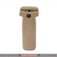 PTS Enhanced Polymer Foregrip EPF Vertical Grip for Airsoft Hand Guards - Tan Vertical Grips- ModernAirsoft.com