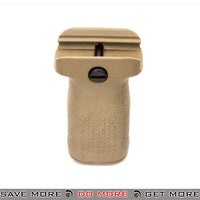 PTS Enhanced Polymer Foregrip Short EPF-S Vertical Grip for Airsoft Hand Guards - Tan Vertical Grips- ModernAirsoft.com