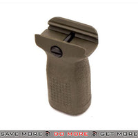 PTS Enhanced Polymer Foregrip Short EPF-S Vertical Grip for Airsoft Hand Guards - OD Green Vertical Grips- ModernAirsoft.com