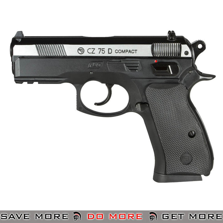 ASG CZ 75D Duty Non-Blowback Co2 4.5mm .177 two tone