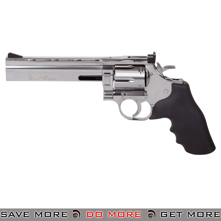 Dan Wesson 715 CO2 Powered 4.5mm BB Revolver - Silver