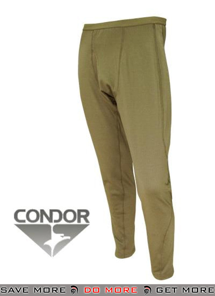 Condor Tan XX-Large Cold Weather BASE II Mid-Weight Drawer Thermals / Cold Weather- ModernAirsoft.com