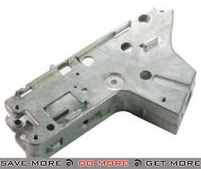 ICS Full Metal Lower GearBox Shell for ICS M4 / M16 Series Airsoft AEG Gearbox- ModernAirsoft.com