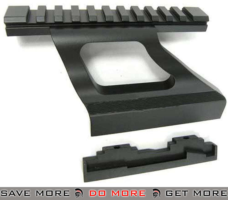 ICS AK Scope Side Mount for ICS AK Series Rifle Scope Mount Base- ModernAirsoft.com