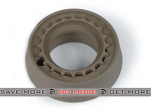 Matrix Metal Delta Ring Set for M4 / M16 Series Airsoft AEG (Dark Earth) Hand Guards- ModernAirsoft.com