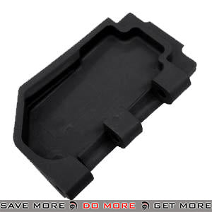 Replacement Stock Hinge Connection Plate for WE SCAR Gas Blowback Rifle (Black) WE-Tech Parts- ModernAirsoft.com