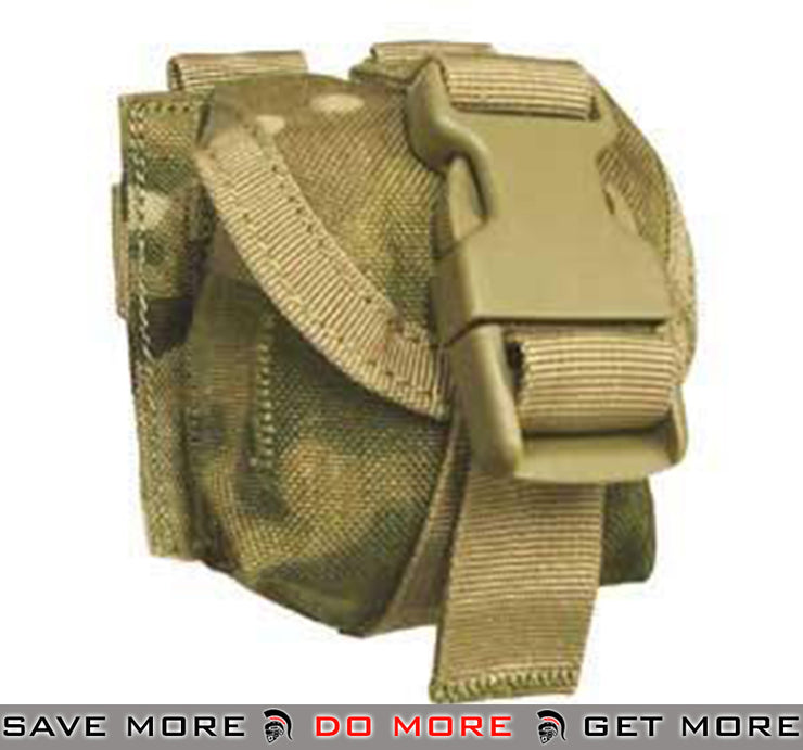 Condor Crye Precision Licensed MOLLE Single Frag Grenade Pouch (Color: Multicam Pattern) Multicam Pouches- ModernAirsoft.com