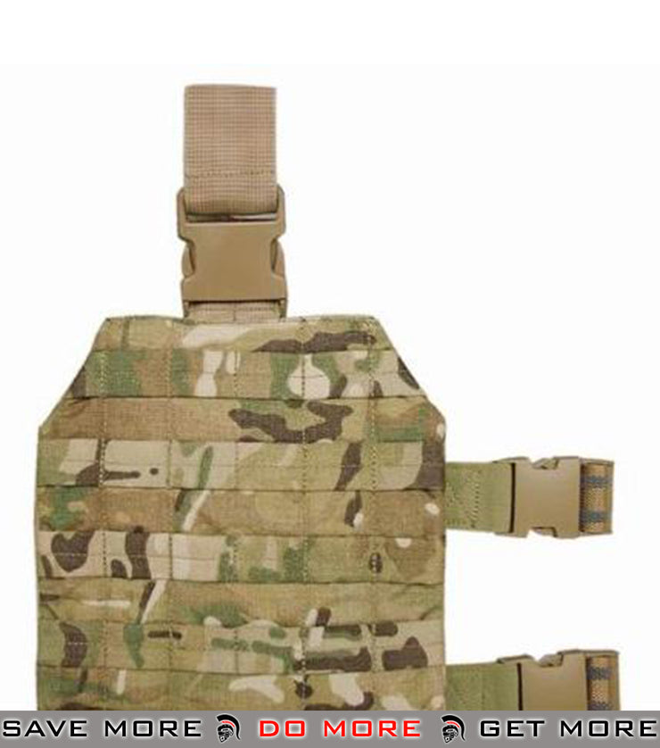 Crye Precision Licensed Military Style Universal Tactical Drop Leg Platform - Multicam Multicam Pouches- ModernAirsoft.com