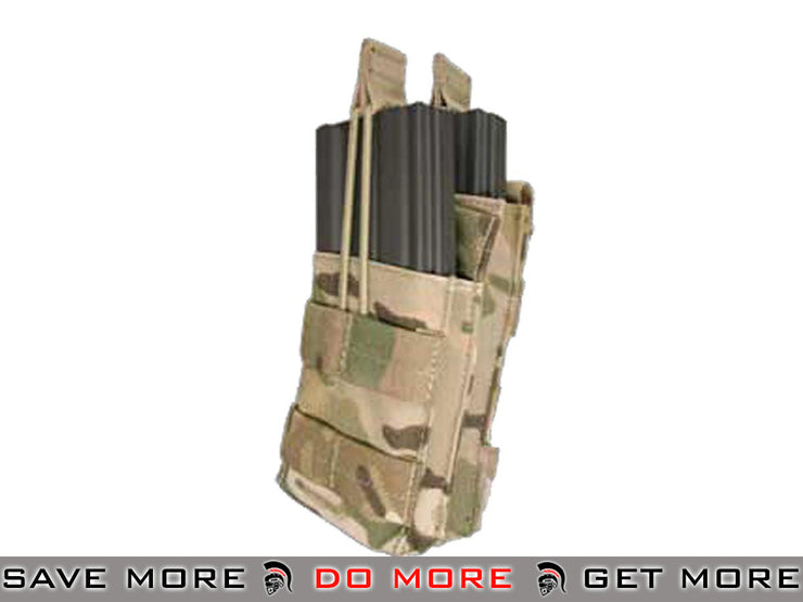 Condor Single M4 / M16 Stacker Open-Top Mag Pouch (Multicam, Licensed by Crye Precision) Multicam Pouches- ModernAirsoft.com