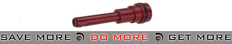 PolarStar Ver.2 SR-25 Fusion Engine Air Nozzle (Red) PolarStar Fusion Engine/JACK/F1- ModernAirsoft.com