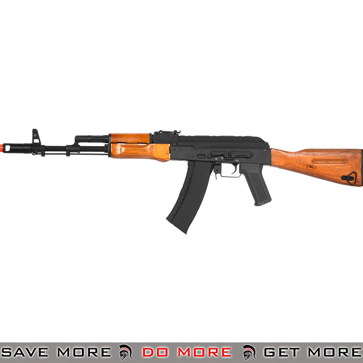 CYMA Stamped Steel  Real Wood Full Size AK-74