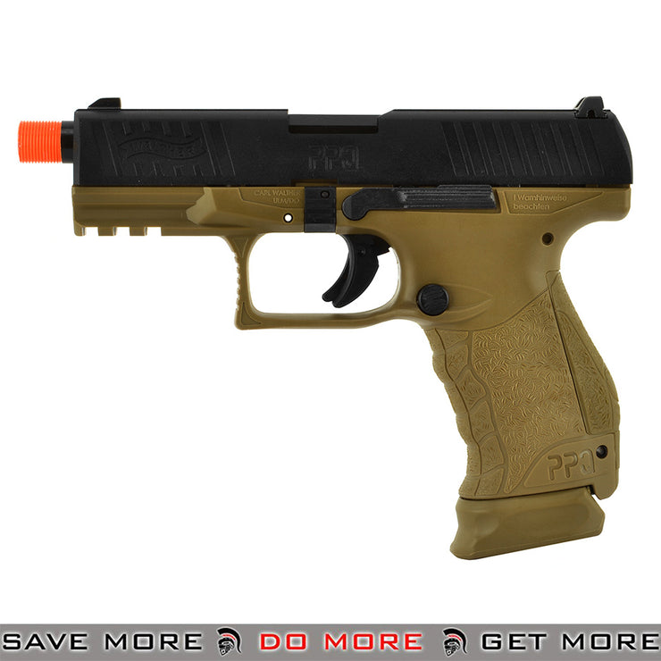 Walther PPQ GBB Tac SD Navy Airsoft