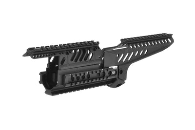 Matrix Tactical X47 Rail System for AK Series Airsoft AEG (Black) - ModernAirsoft.com