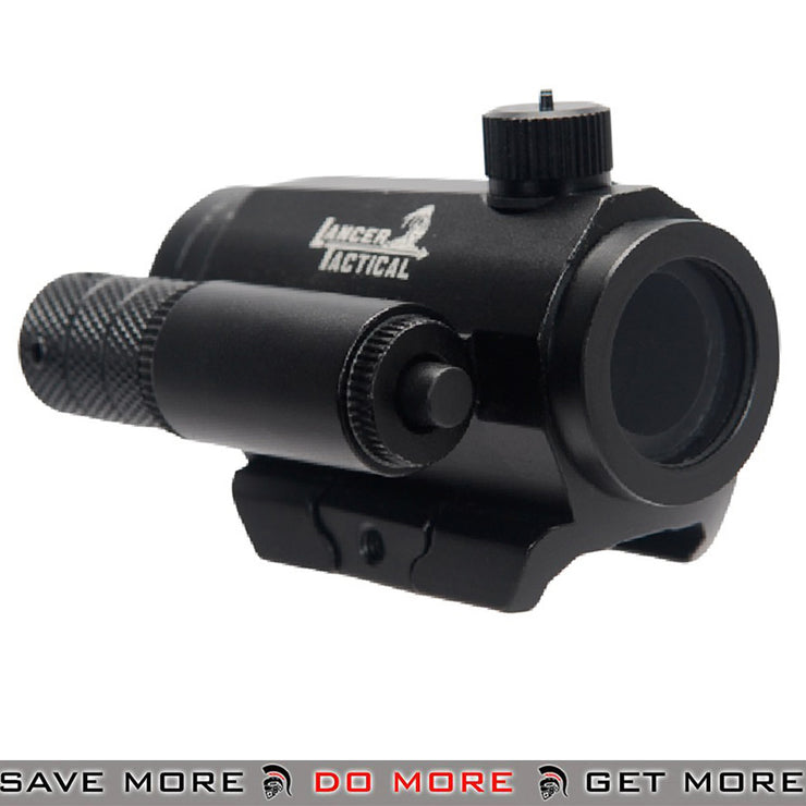 Lancer Tactical Mini Red & Green Dot Sight w/ Red Laser CA-421B