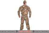 Lancer Tactical Camoflage Rugged Combat Uniform w/ Integrated Pads - HLD Shirts- ModernAirsoft.com