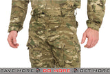 Lancer Tactical Camoflage Rugged Combat Uniform w/ Integrated Pads - ARID CAMO Shirts- ModernAirsoft.com
