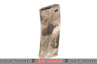 Dytac Hexmag 120rd Mid-Cap for M4 / M16 Series Airsoft AEG Rifle - A-TACS AU Electric Gun Magazine- ModernAirsoft.com