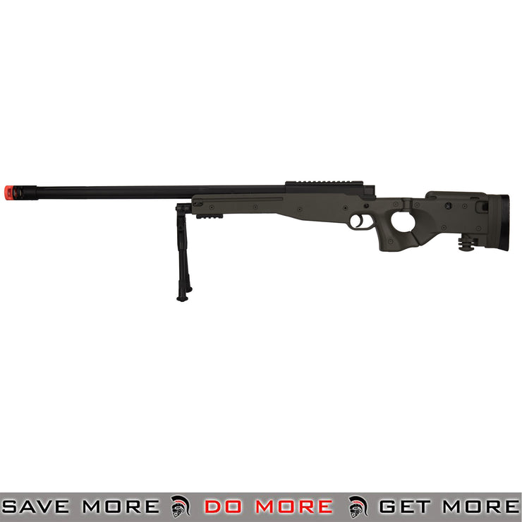 M1196B BOLT ACTION AIRSOFT SNIPER RIFLE WITH FOLDING STOCK [Olive Drab]