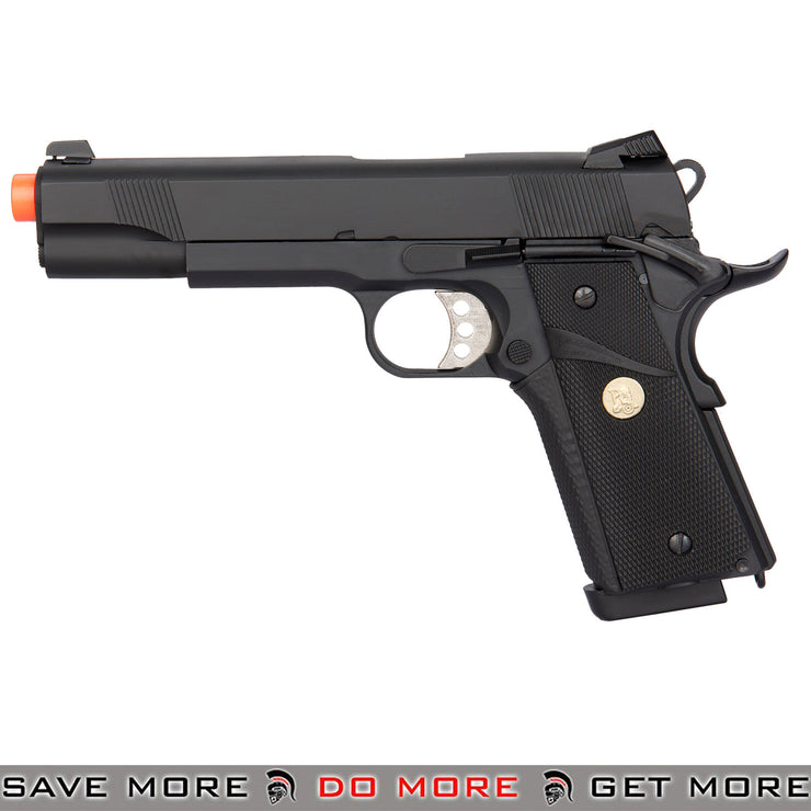 Double Bell M1911 MEU GBB Gas Blowback Airsoft Pistol [BLACK]