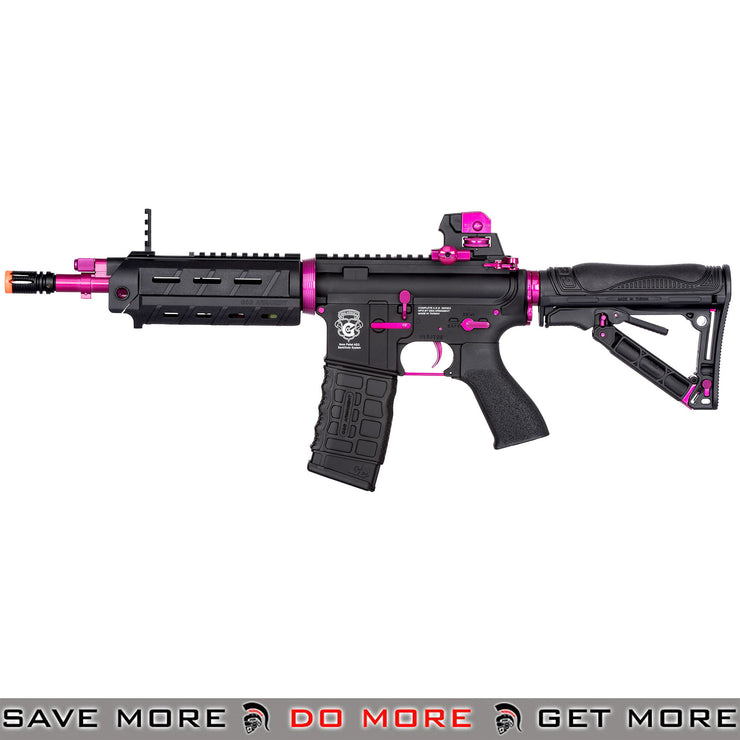 G&G Electric Blowback GR4 G26 Airsoft AEG black and pink