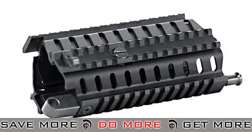 ICS Quad Rail Handguard M.R.S. Tactical Rail Interface System for SIG 552 AEG Conversion Kits- ModernAirsoft.com