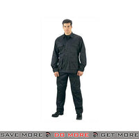 Rothco Ultra Force SWAT Ripstop BDU Pants - Black Pants / Shorts- ModernAirsoft.com