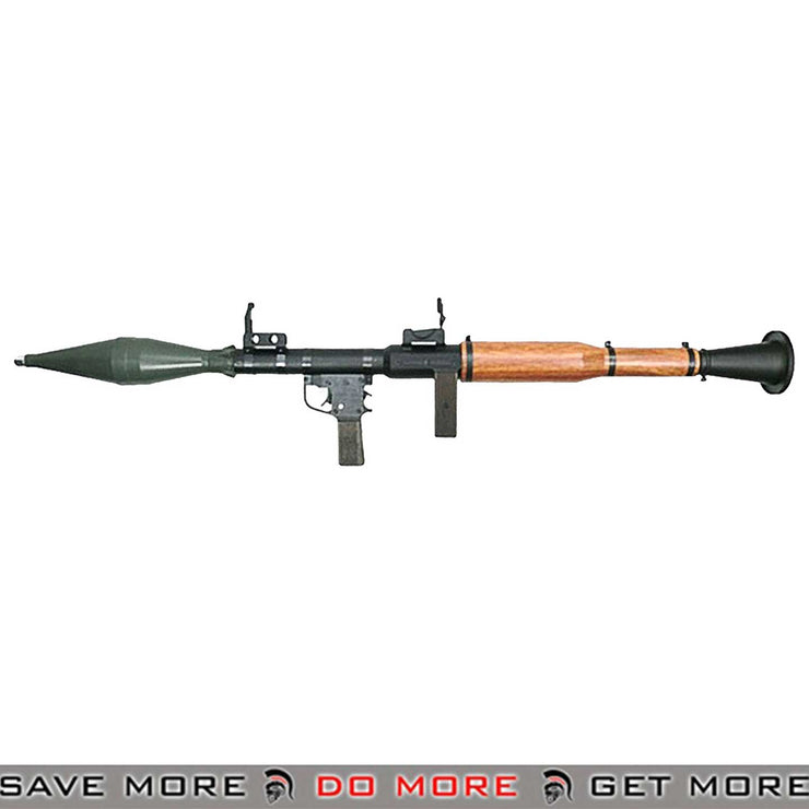 Arrow Dynamic Real Wood RPG-7 40mm Grenade Airsoft Rocket Launcher