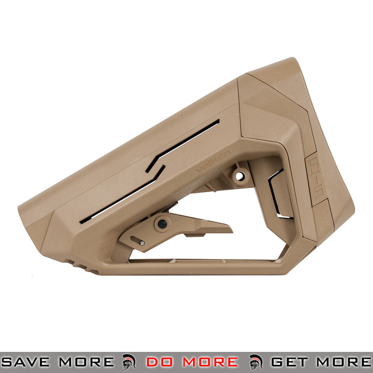 Valken ATS M4 Stock by Merens (Tan) Stocks- ModernAirsoft.com