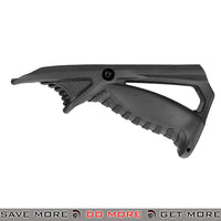 Sentinel Gears Rail Tactical Ergonomic Pointing Angled Foregrip SG-46-4B - Black Vertical Grips- ModernAirsoft.com