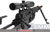 CheyTac Licensed Black M200 Intervention Bolt Action Custom Sniper Rifle Airsoft- ModernAirsoft.com