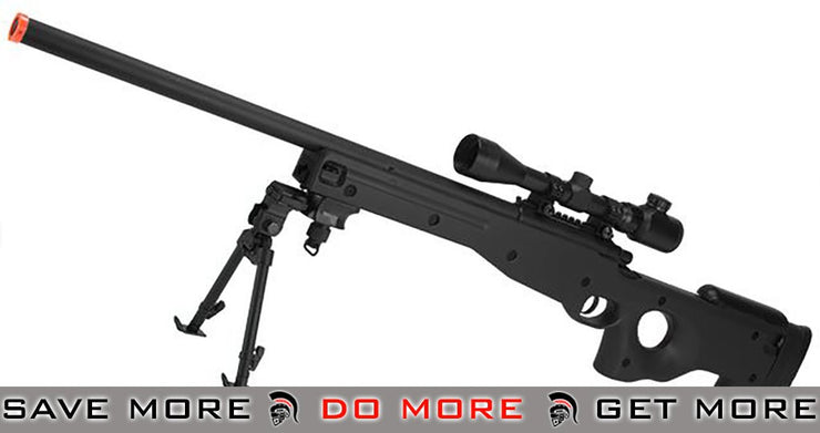 AGM Type 96 Airsoft Bolt Action Sniper Rifle (Black) AW 338 / L96 / AICS- ModernAirsoft.com