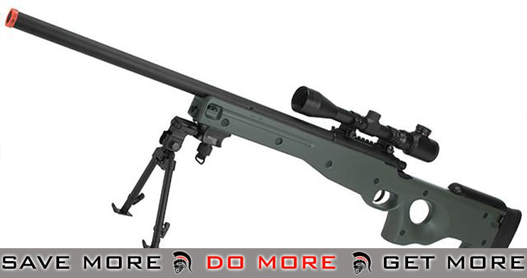 AGM Type 96 Airsoft Bolt Action Sniper Rifle (OD Green) AW 338 / L96 / AICS- ModernAirsoft.com