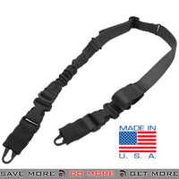 Condor STRYKE Two Point Bungee Sling (Black) Slings- ModernAirsoft.com
