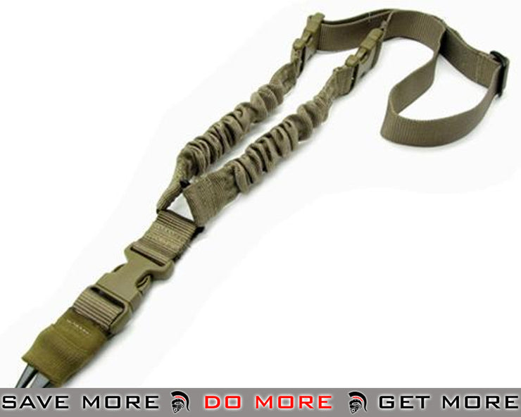Condor Tan Cobra Type Tactical One Point Bungee Sling Slings- ModernAirsoft.com