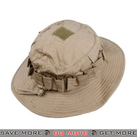 TMC Tactical Lightweight Boonie Hat T0935-CB - Khaki Head - Hats- ModernAirsoft.com
