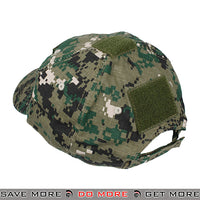TMC Tactical Operator Velcro Ball Cap T1249-WD - Digital Woodland Head - Hats- ModernAirsoft.com