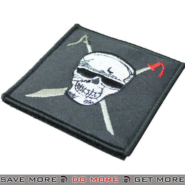 Lancer Tactical Velcro Morale Patch T1424 - SEAL Team 5 Bravo Patch- ModernAirsoft.com