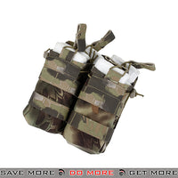 TMC Tactical Double M4 / M16 Open Top Bungee Shingle Magazine Pouch T2417-MD - Mandrake Ammo Pouches- ModernAirsoft.com