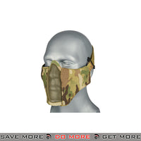TMC PDW Mesh Mercenary Half Mask - Multicam