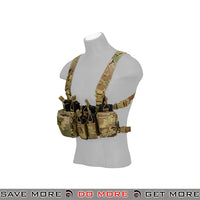 TMC Tactical Airsoft QD Lightweight Chest Rig T2527M - Multicam Chest Rigs & Harnesses- ModernAirsoft.com