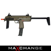 MaxChange Used H&K UMAREX MP7 AIRSOFT GAS BLOWBACK BY KWA (DESERT TAN)