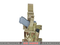Condor Tornado Universal Thigh / Drop Leg Holster (Multicam / Right) Holsters - Fabric- ModernAirsoft.com