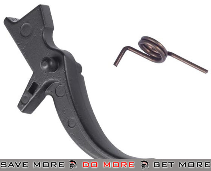 ASG Ultimate Upgrade Steel Trigger for M4 / M16 Series Airsoft Electric Gun Trigger Assembly- ModernAirsoft.com