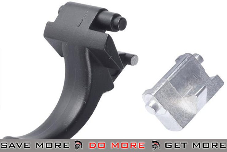 ASG Ultimate Upgrade Steel Trigger for AK Series Airsoft Electric Gun Trigger Assembly- ModernAirsoft.com